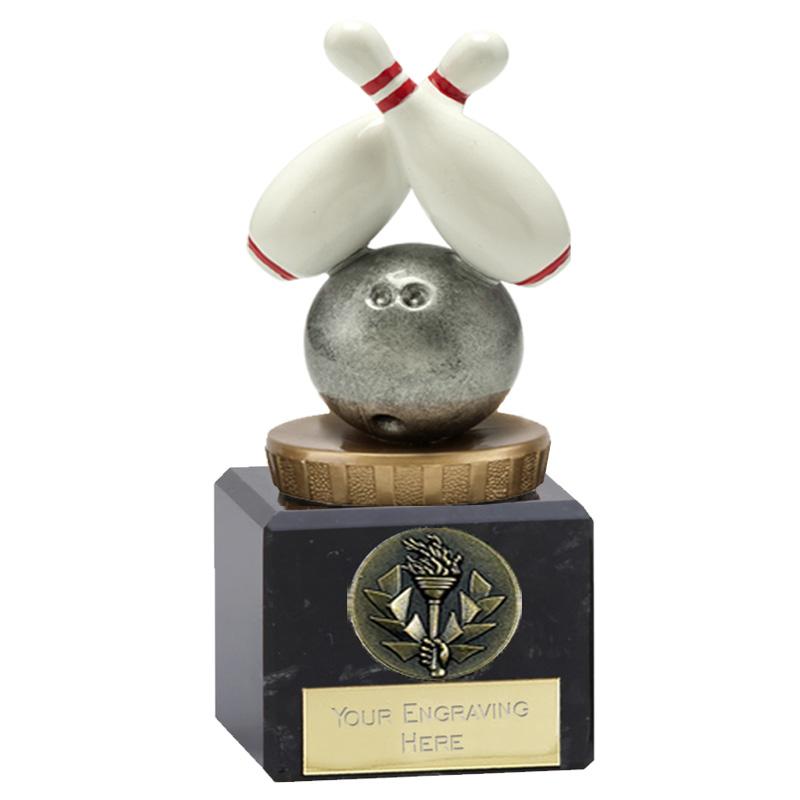 12cm Ten Pin Bowling Figure on Bowling Classic Award