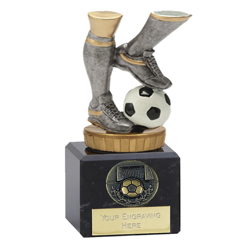 12cm Football Legs Figure On Classic Award