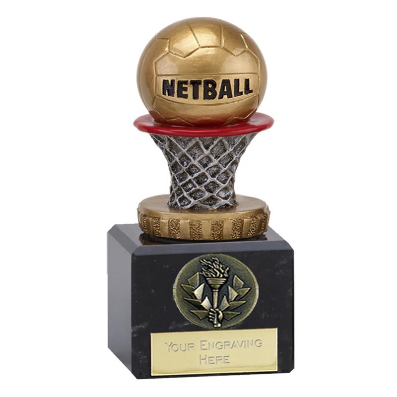 12cm Netball Figure on Classic Award