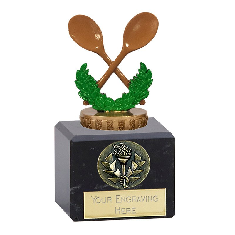 12cm Wooden Spoon Figure on Classic Award