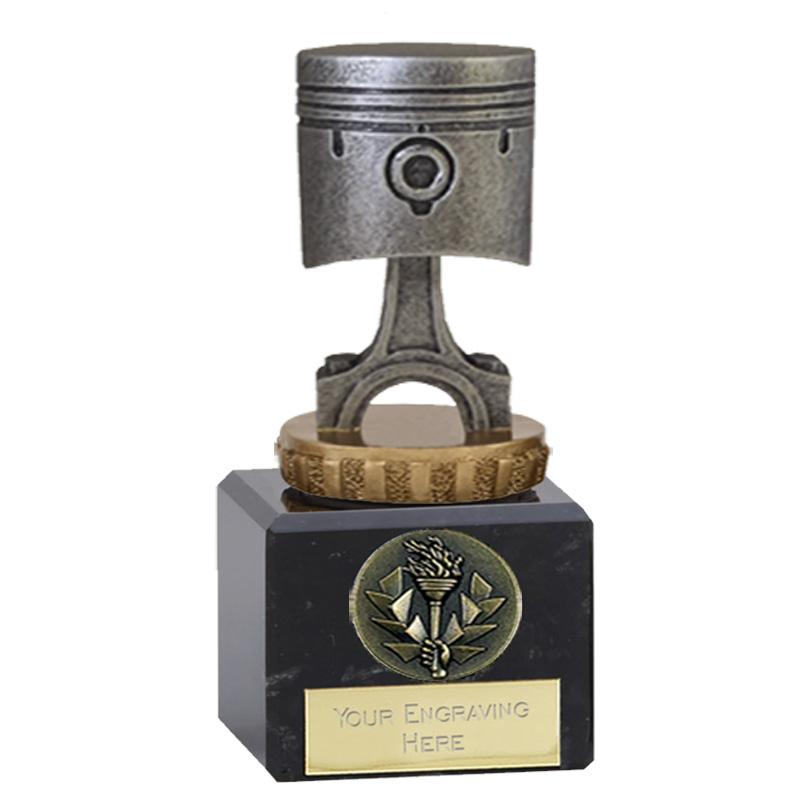 12cm Piston Figure On Motorsports Classic Award