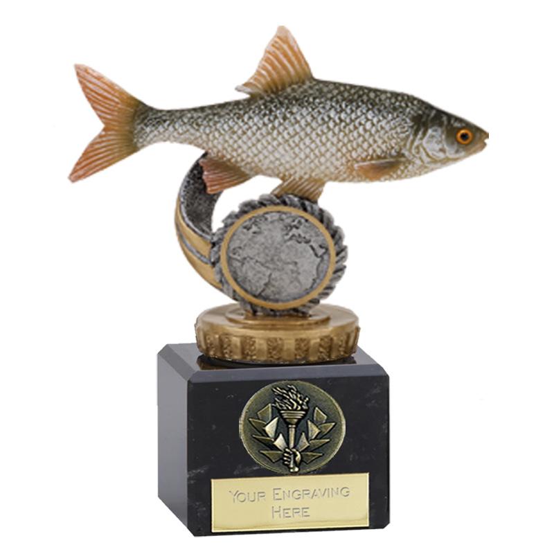 12cm Fish Roach Figure on Fishing Classic Award