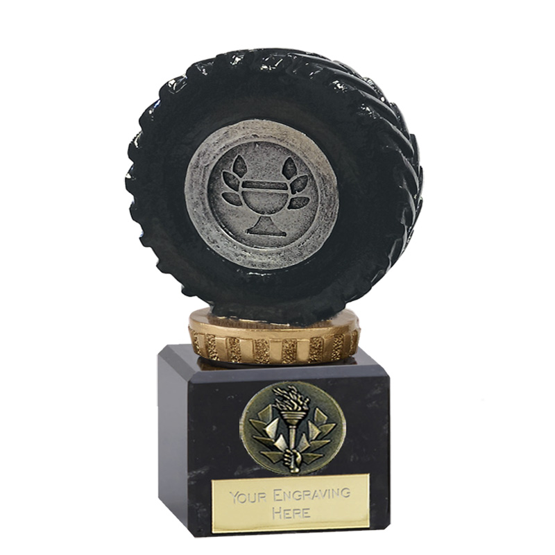12cm Tractor Tyre Figure on Tractor Classic Award