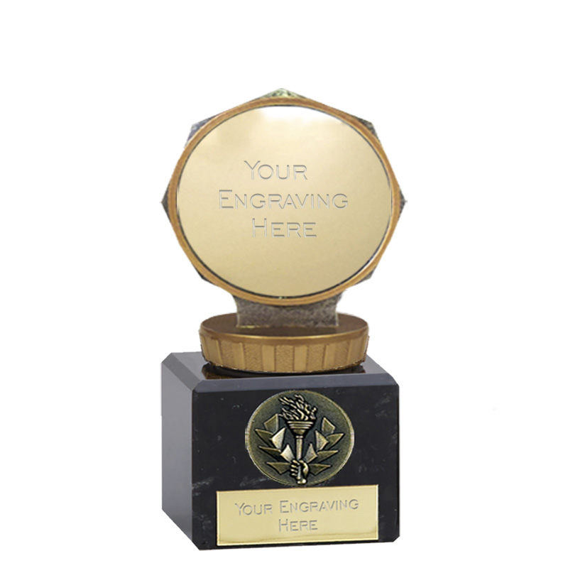 12cm 50mm Centre Holder Figure On Classic Award
