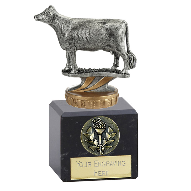 12cm 3D Cow Figure On Pets Classic Award