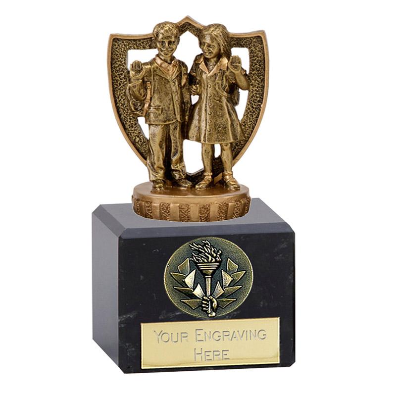 12cm School Pupils Figure on School Classic Award