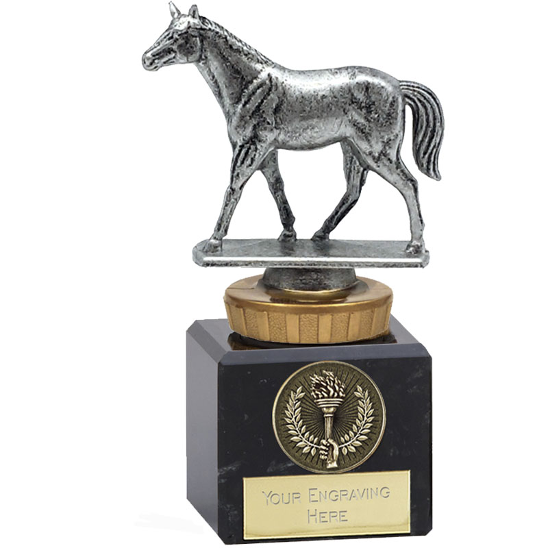 12cm Quarter Horse Figure on Horse Riding Classic Award