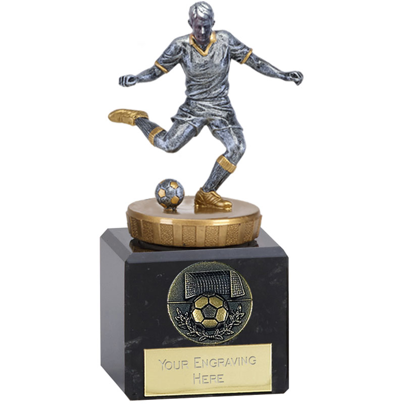 12cm Footballer Male Figure on Football Classic Award