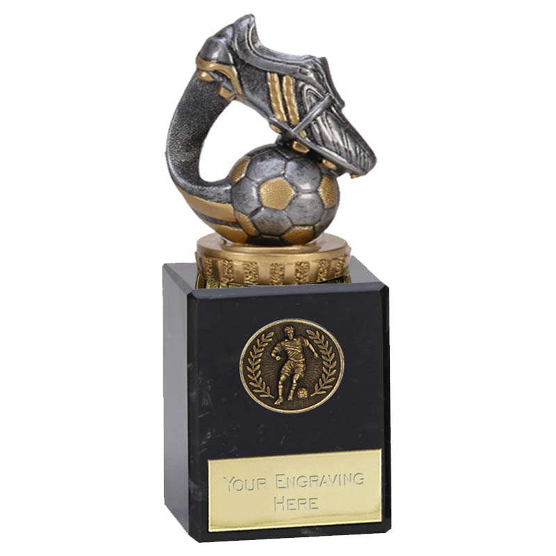 6 Inch Boot & Ball Wave Figure on Football Classic Award