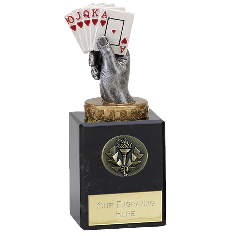 6 Inch Playing Cards Figure On Classic Award