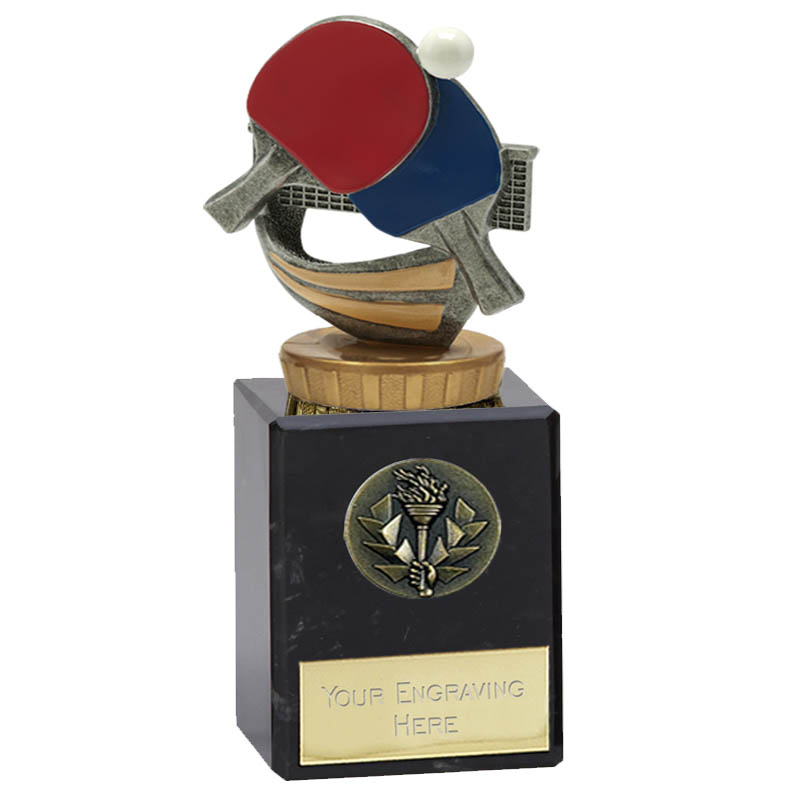 6 Inch Table Tennis Figure on Table Tennis Classic Award