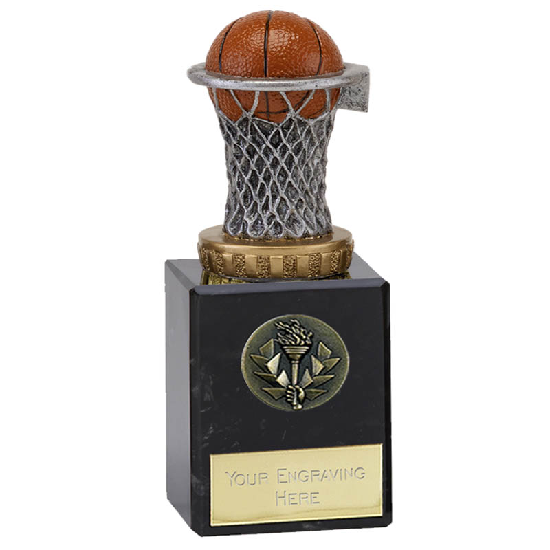 6 Inch basketball figure on Classic Award