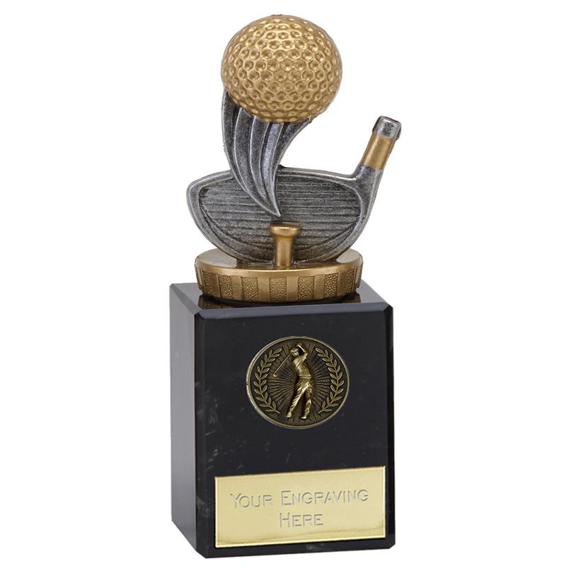 6 Inch Golf Figure on Golf Classic Award