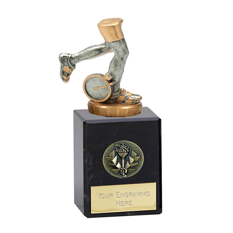 6 Inch Running Neutral Figure On Classic Award