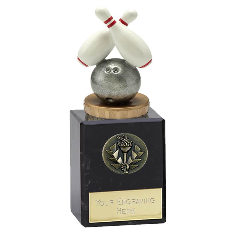 6 Inch Ten Pin Bowling Figure on Bowling Classic Award