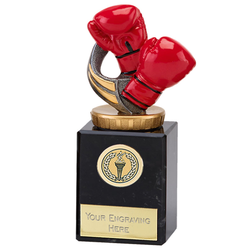 6 Inch Boxing Figure on Boxing Classic Award