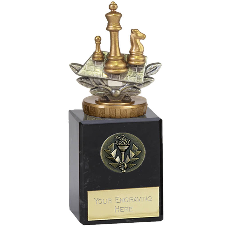 6 Inch Chess Figure on Chess Classic Award