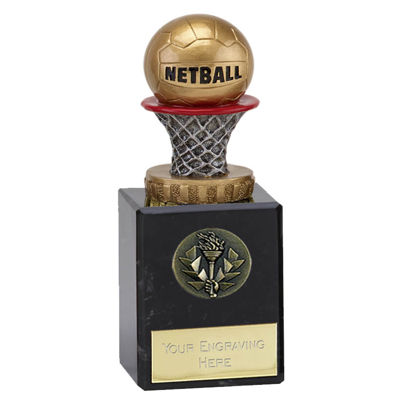 6 Inch Netball Figure on Classic Award