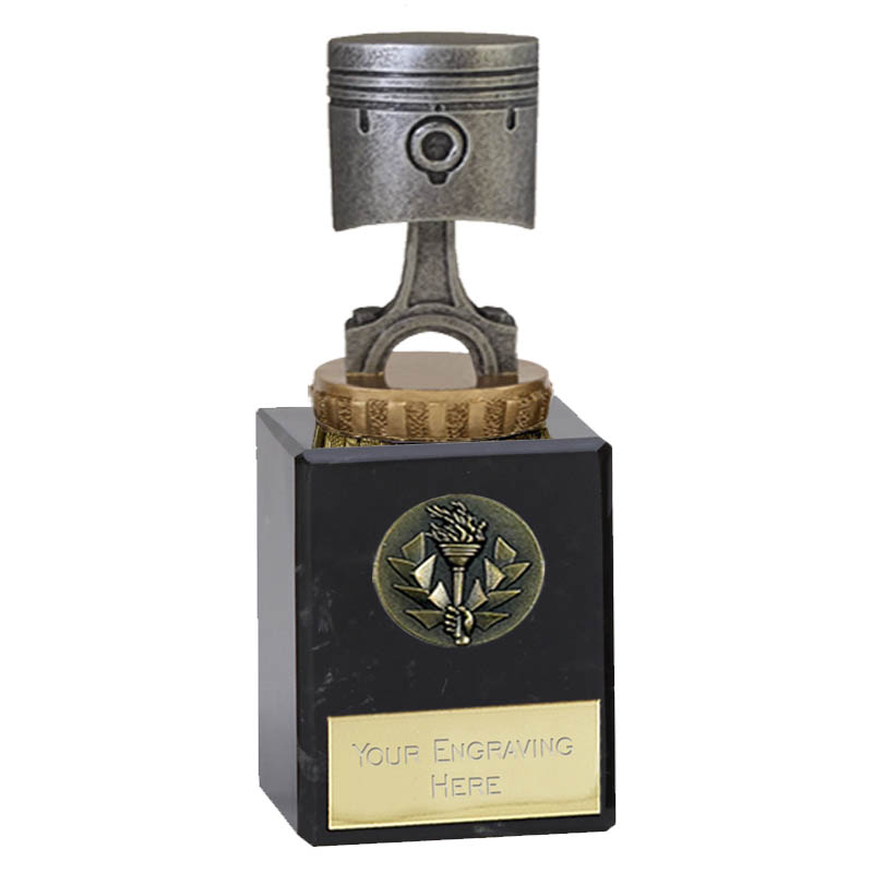 6 Inch Piston Figure on Motorsports Classic Award