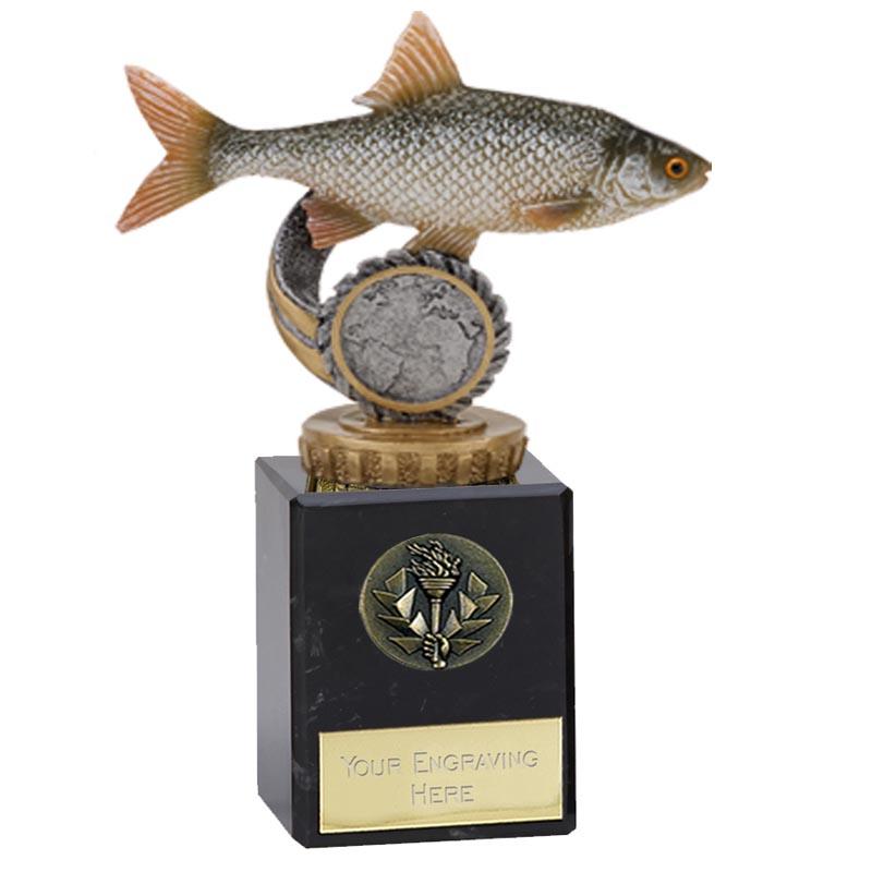 6 Inch Fish Roach Figure on Fishing Classic Award