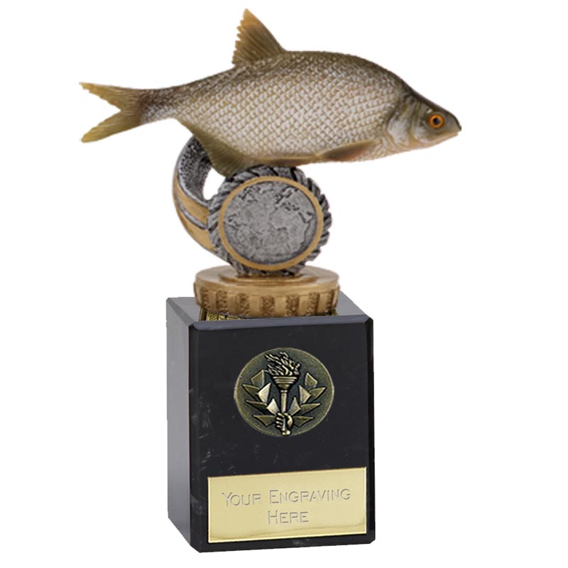 6 Inch Fish Bream Figure On Fishing Classic Award