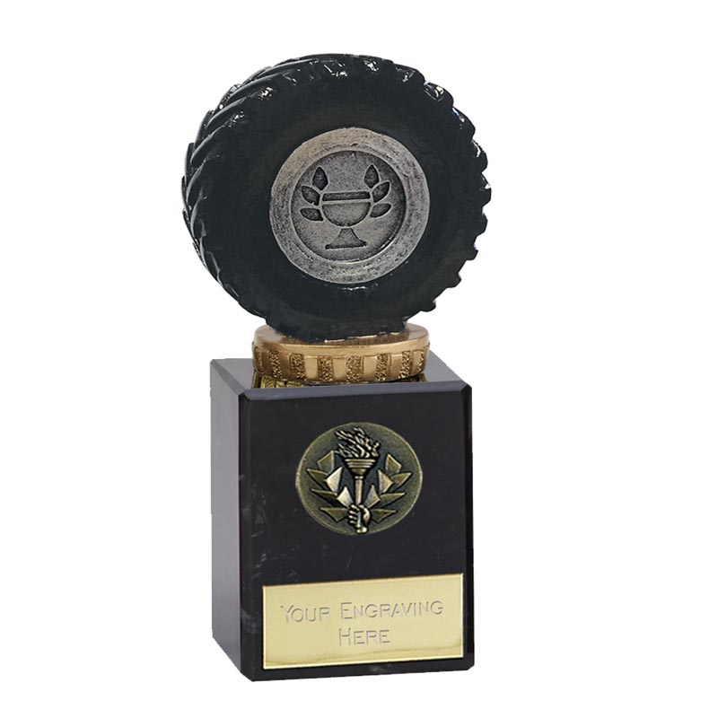 6 Inch Tractor Tyre Figure On Classic Award