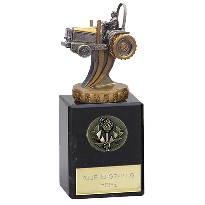 6 Inch 3D Tractor Figure on Tractor Classic Award