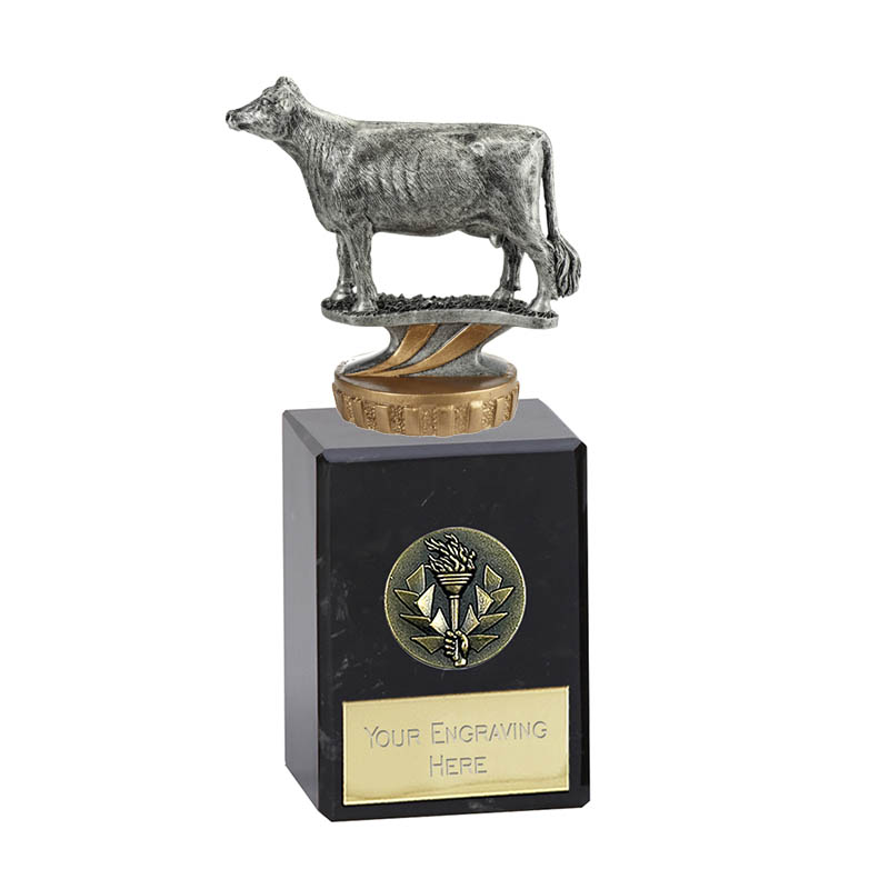 6 Inch 3D Cow Figure on Pets Classic Award