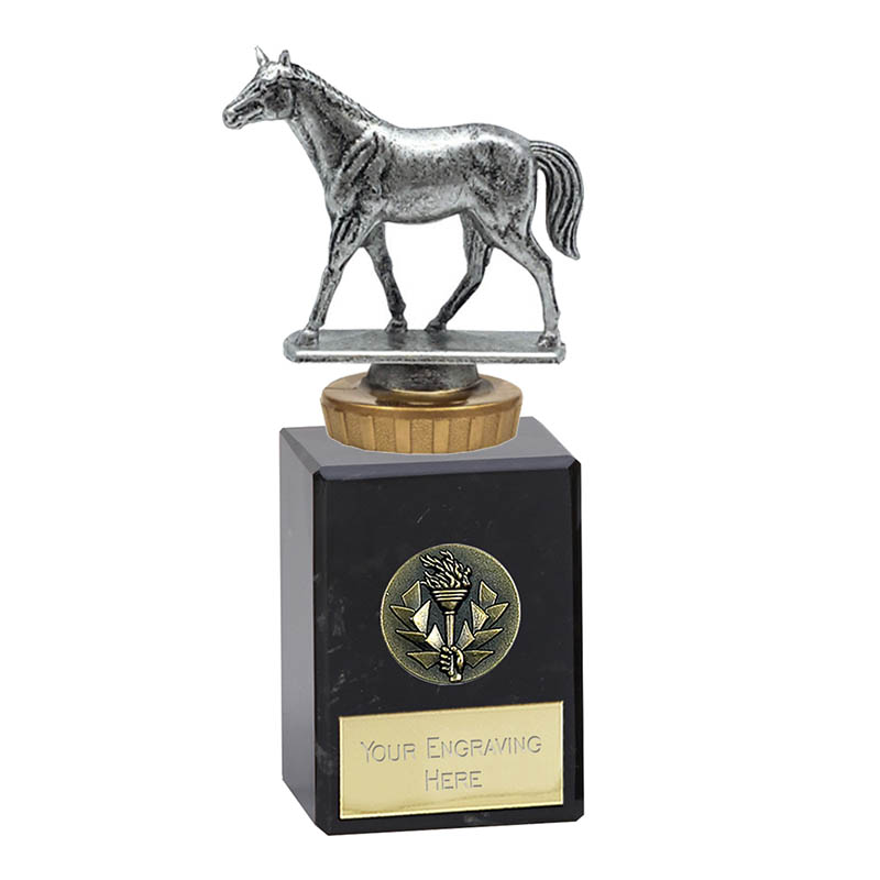 6 Inch Quarter Horse Figure on Horse Riding Classic Award