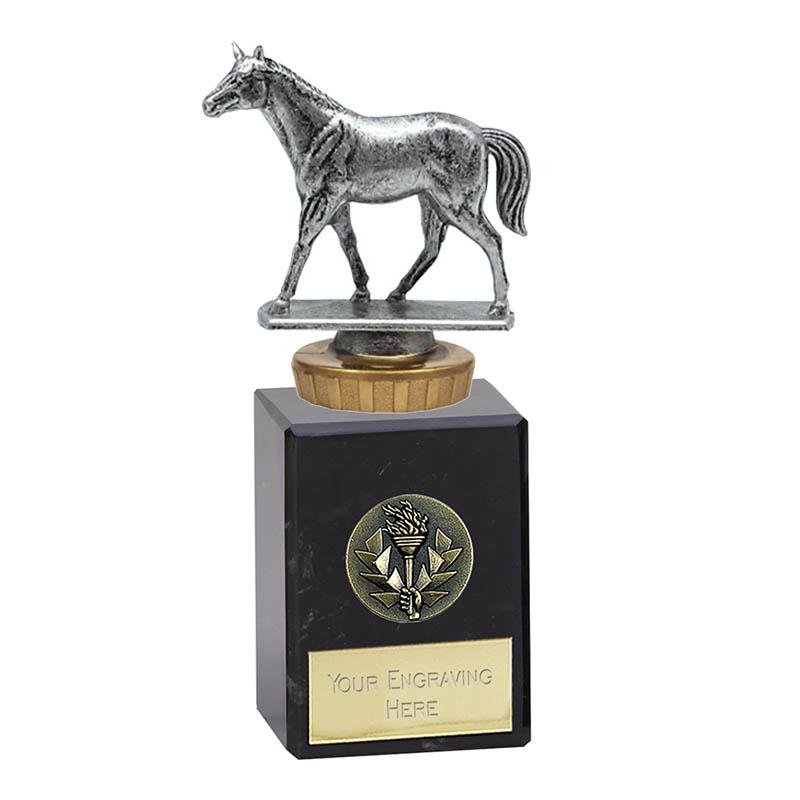 6 Inch Quarter Horse Figure on Horse Riding Classic Award