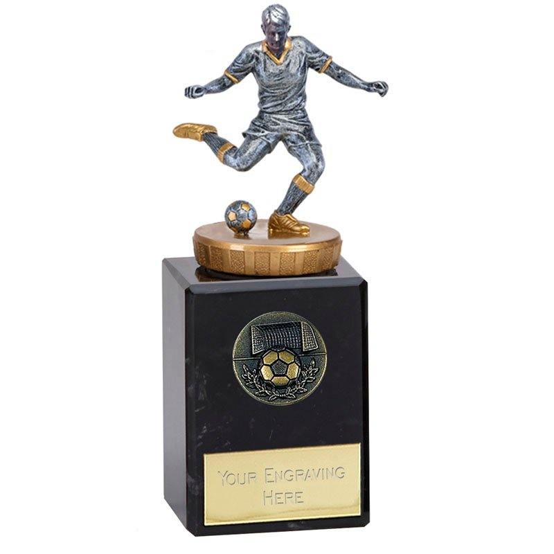 6 Inch Footballer Male Figure On Classic Award