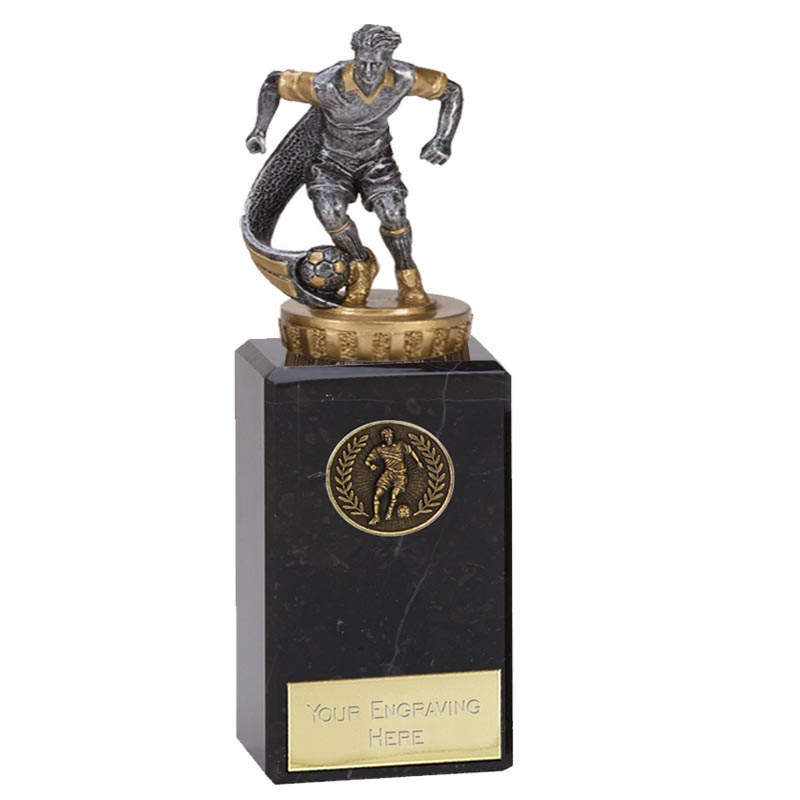 18cm Football Figure On Classic Award