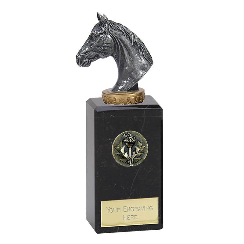 18cm Horse Head Figure on Horse Riding Classic Award
