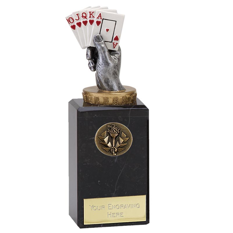 18cm Playing Cards Figure On Classic Award