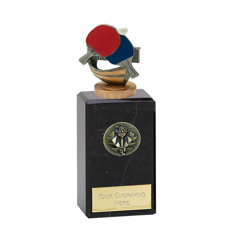 18cm Table Tennis Figure On Classic Award