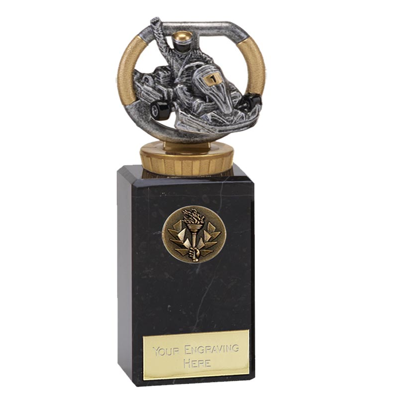 18cm Go-Kart Figure On Motorsports Classic Award