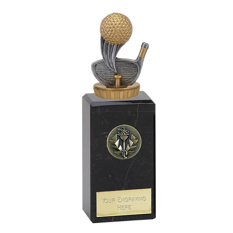 18cm Golf Figure On Golf Classic Award