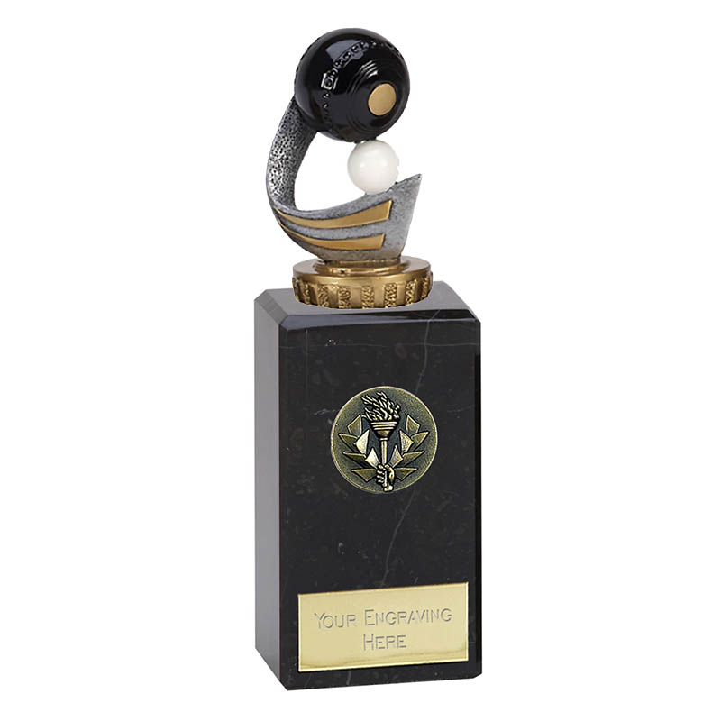 18cm Lawn Bowls Figure on Bowling Classic Award
