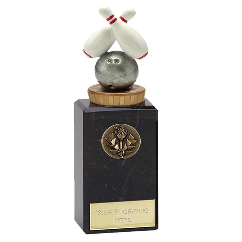 18cm Ten Pin Bowling Figure on Classic Award