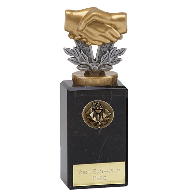 18cm Handshake Figure On Classic Award