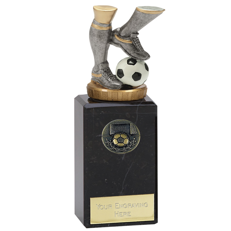 18cm Football Legs Figure On Classic Award
