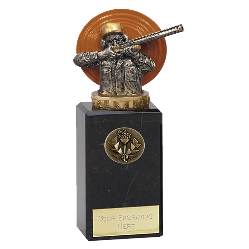 18cm Clay Shooting Figure On Classic Award