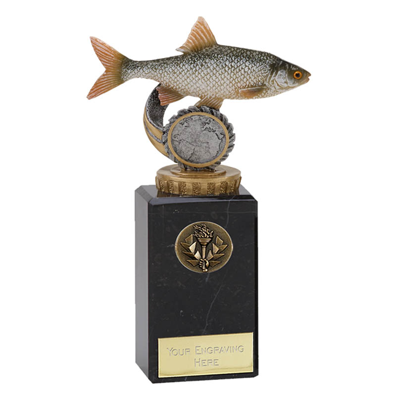 18cm Fish Roach Figure on Fishing Classic Award