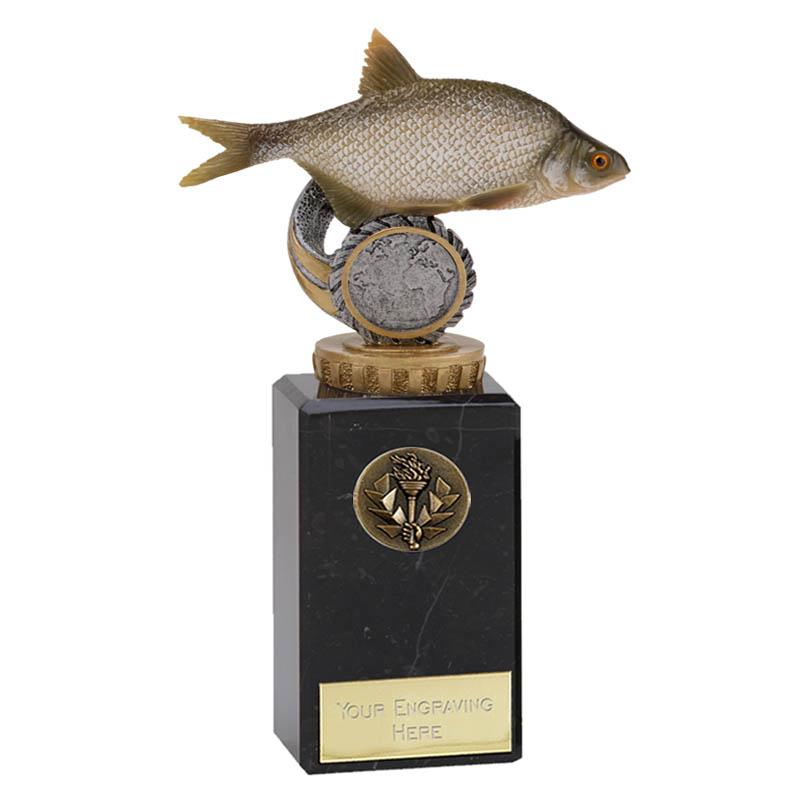 18cm Fish Bream Figure On Fishing Classic Award