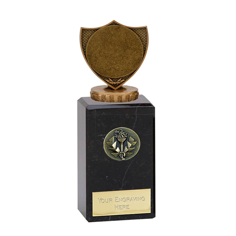 "18cm Shield with 2"" Centre Figure on Classic Award"