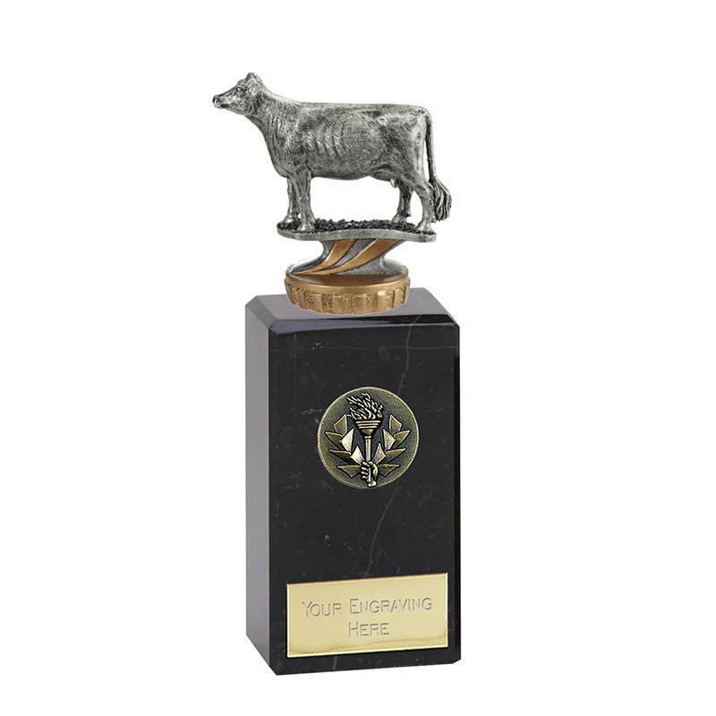 18cm 3D Cow Figure On Pets Classic Award