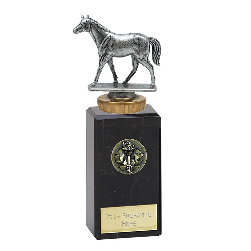 18cm Quarter Horse Figure on Horse Riding Classic Award