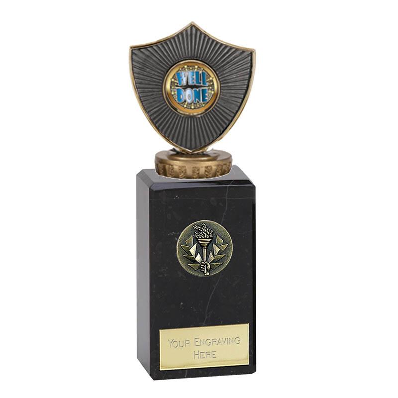 18cm Centre Shield Figure On Classic Award