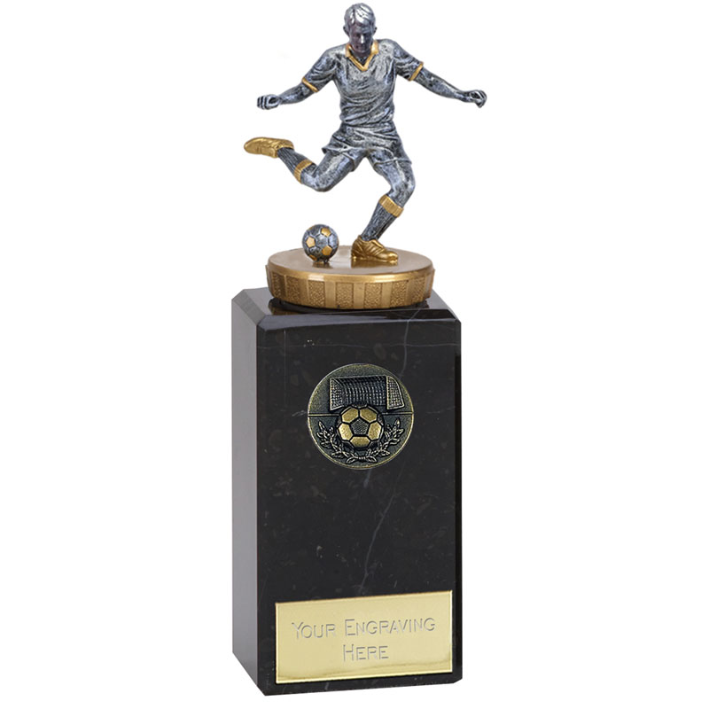 18cm Footballer Male Figure on Football Classic Award