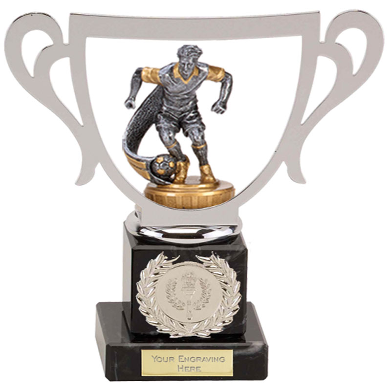 19cm Football Figure On Galaxy Award